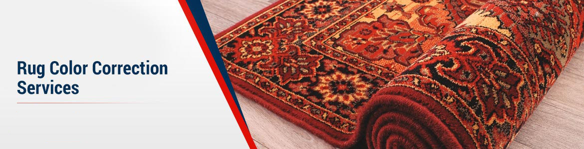 Rug Color Correction Services Banner